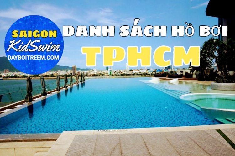 Danh sách hồ bơi ở Tphcm
