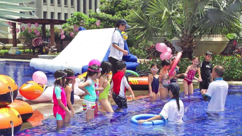 dạy bơi trẻ em ở Tphcm